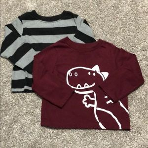 2 garanimals shirts